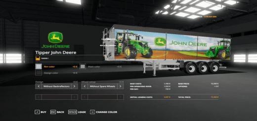 Photo of FS19 – Benalu Tipper John Deere Edition V1