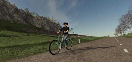 Photo of FS19 – Bicycle (Daru) V1