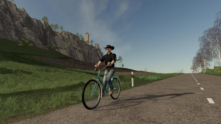 FS19 - Bicycle (Daru) V1