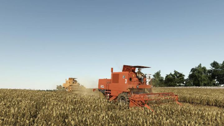 FS19 - Bizon Super Z056 Harvester V1