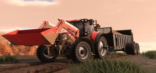 Photo of FS19 – Case Optum Series Us Tractor V2