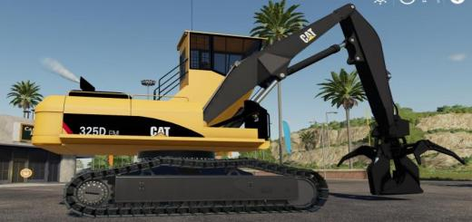 Photo of FS19 – Cat 325D Fm Buttntop V1