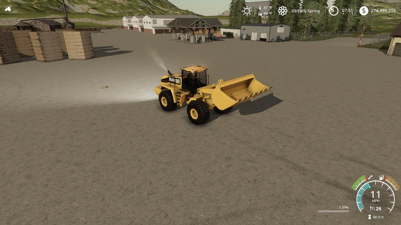 Photo of FS19 – Cat Front Loader V1