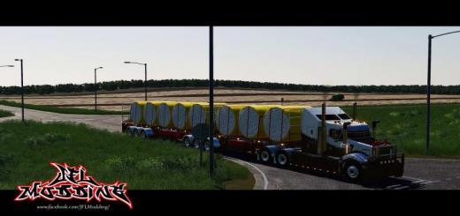 Photo of FS19 – Cimc Flatdeck Trailer Pack V1