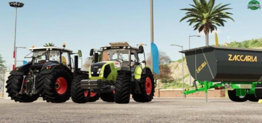Photo of FS19 – Claas Axion 800 Series V1.1
