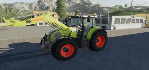 Photo of FS19 – Claas Front Loader V2.5