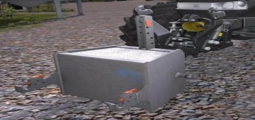 Photo of FS19 – Concrete Weight 750 Kg V1