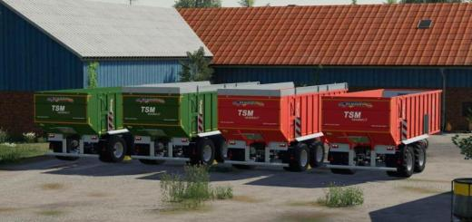 Photo of FS19 – Demmler Tsm 230 Trailer V1