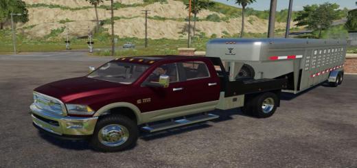 Photo of FS19 – Dodge Ram 3500 Flatbed V1