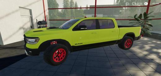 Photo of FS19 – Dodge Ram Mp V1
