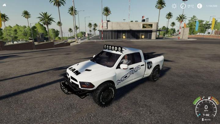 FS19 - Dodge Ram Pre Runner V1