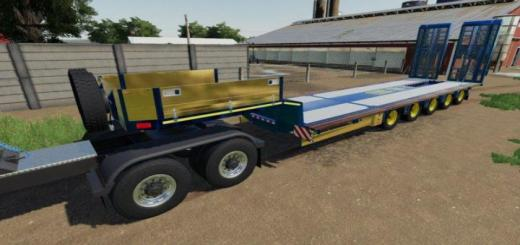 Photo of FS19 – Doll Low Loader Trailer V1
