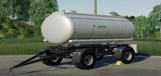 Photo of FS19 – [Fbm Team] Liquid Transport Barrel Mk12_Vii V1