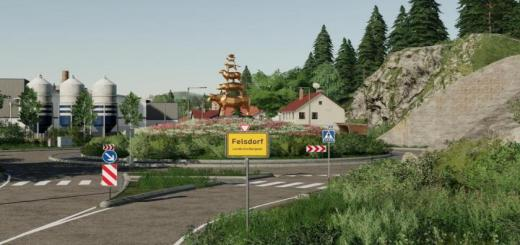 Photo of FS19 – Felsdorf By Realistic Farmers Map V1