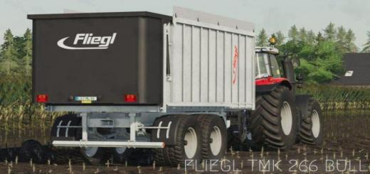 Photo of FS19 – Fliegl Tmk 266 Bull Trailer V1