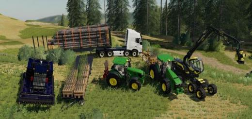 Photo of FS19 – Forest Pack V1