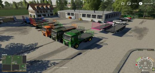 Photo of FS19 – Friesenjung Transport Pack V1.1