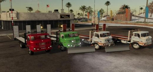 Photo of FS19 – Ifa W50 Towtruck Update V1.1