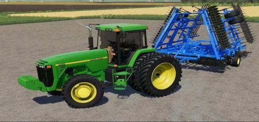 Photo of FS19 – John Deere 8000 Series Us Tractor V1
