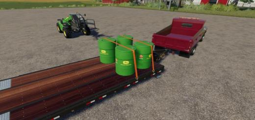 Photo of FS19 – John Deere Diesel Barrel V1