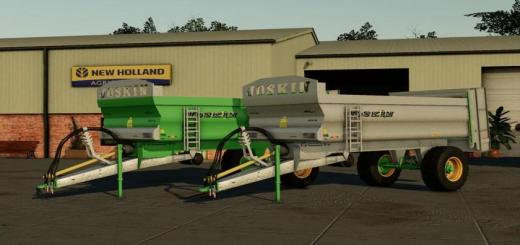 Photo of FS19 – Joskin Ferti Cap Pack Manurespreader V1