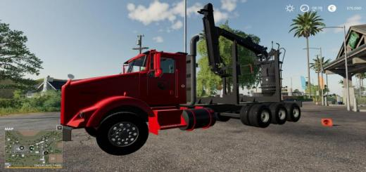 Photo of FS19 – Kenworth T800 Self Loader V1