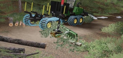 Photo of FS19 – Kirmag Tree Waste Rake V1