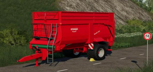 Photo of FS19 – Krampe Bandit 550 Trailer V1.0.0.1