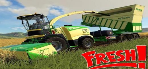 Photo of FS19 – Krone Cargo Overloading Trailer V1