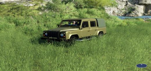 Photo of FS19 – Land Rover Defender 110 V1