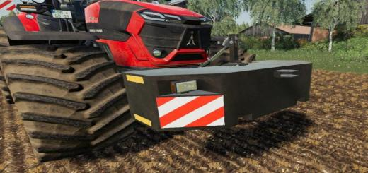 Photo of FS19 – Landkracht Front Weight V1