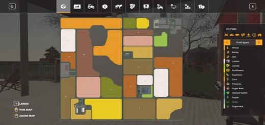 Photo of FS19 – Legacy Township Map V1