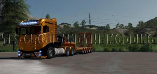 Photo of FS19 – Low Loader Doll Tfsg V1.5