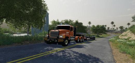 Photo of FS19 – Mack Pinnacle Truck V1.1