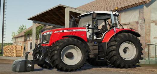 Photo of FS19 – Massey Ferguson 7700S Tractor V1.1