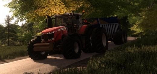 Photo of FS19 – Massey Ferguson 8700 Us Tractor V2
