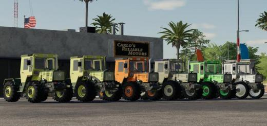 Photo of FS19 – Mercedes-Benz Trac 800-900 V1.0.0.1