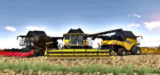 Photo of FS19 – New Holland Cr 8.90 Harvester V1