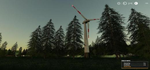 Photo of FS19 – Placable Wind Turbine Updated