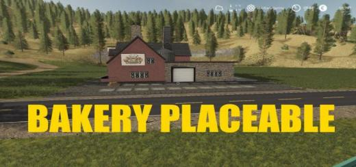 Photo of FS19 – Placeable Bakery V1