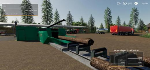 Photo of FS19 – Placeable Jenz Global Company Wood Chipper Fixed