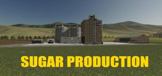 Photo of FS19 – Placeable Sugar Production V1