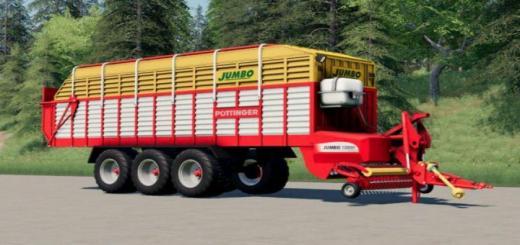 Photo of FS19 – Pottinger Jumbo Loading Wagon V1