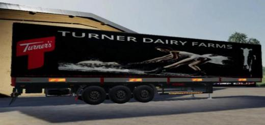 Photo of FS19 – Road Trailer Tuner Dairy V1.5