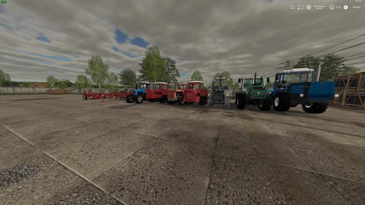 FS19 - Russian Pack Tractors + Implements V1