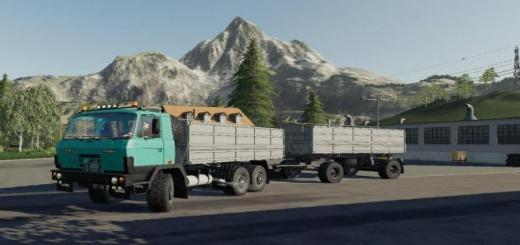 Photo of FS19 – Tatra 815 Modra Log Clean V1.2