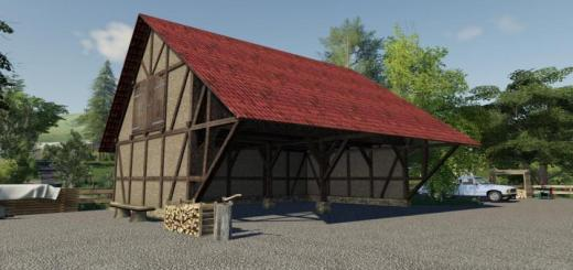 Photo of FS19 – Timberframe Barn With Attic V1.1