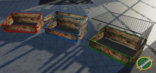 Photo of FS19 –  Transportcontainer V1