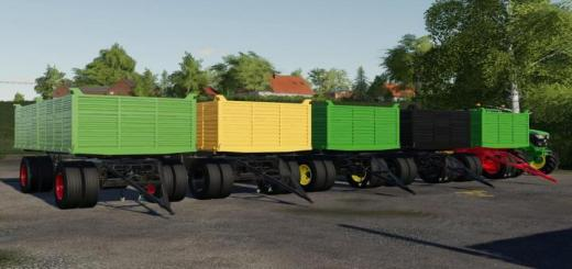 Photo of FS19 – Utva 12T Trailer V1.0.0.1