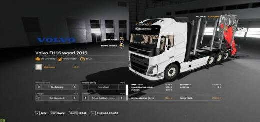 Photo of FS19 – Volvo Fh16 Forest Truck V1.1